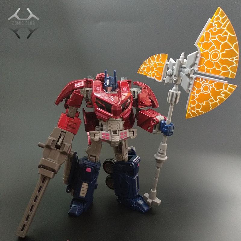 COMIC CLUB Transformatie ITF OVERSIZE WCF OP Commander rood wit Action Figure Robot Speelgoed