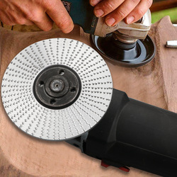 Woodworking Grinding Wheel Rotary Disc Sanding Wood Carving Tool Abrasive Disc Tools For Angle Grinder Rotary Tool Accessories