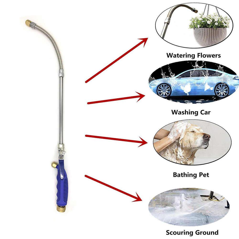 Автомобильный водяной пистолет высокого давления 46 см, садовая мойка, шланг, палочка, сопло, распылитель, полив, распылитель, инструмент для очистки