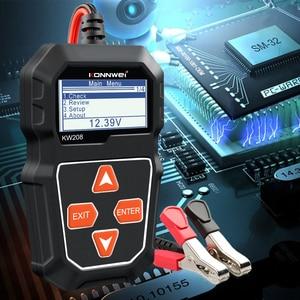 Image 5 - KONNWEI probador de batería de coche KW208, 12 V, 100 a 2000CCA, Analizador de batería de circuito de carga, herramientas de batería de 12 voltios