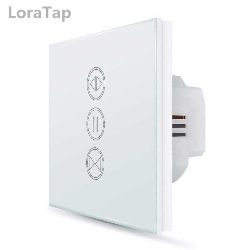 UE WiFI interruptor de cortina inteligente Google Home Alexa Control de voz eléctrico persiana rodillo obturador Motor Tuya Smart Life App temporizador