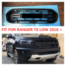 OWN DESIGN MODIFIED FRONT RACING GRILLS GRILLE MESH BUMPER MASK COVER FIT FOR 2018 RANGER T8 LOW VERSION EXTERIOR GRILL PARTS