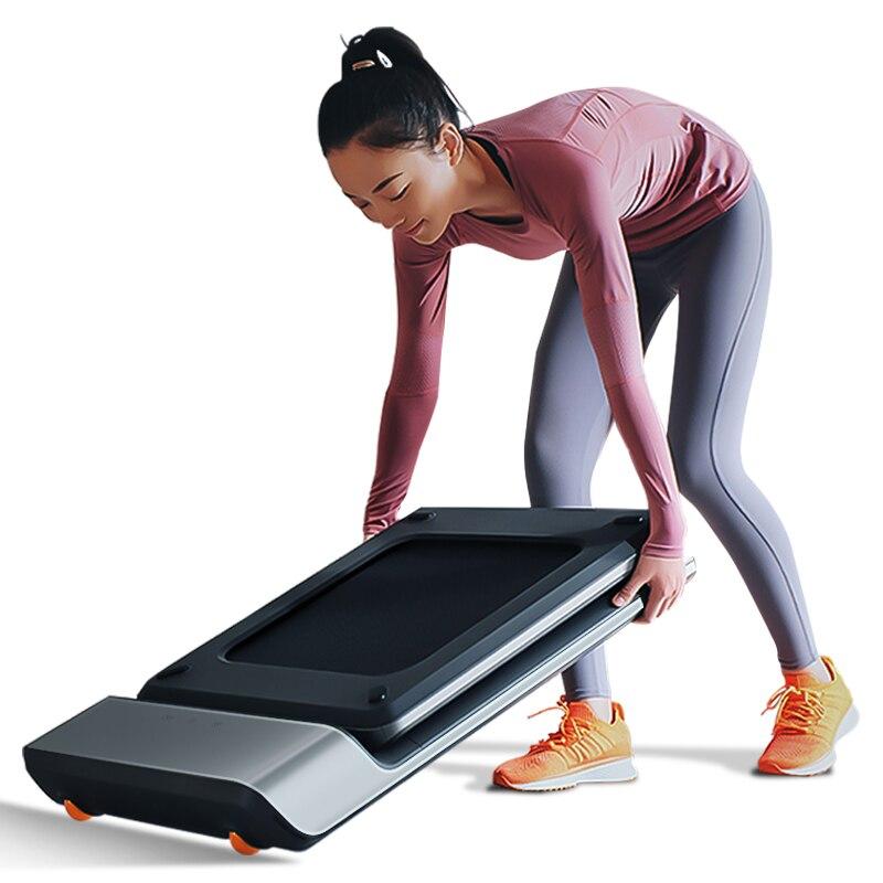 WalkingPad Tread mi ll A1 inteligente plegable eléctrico para caminar la máquina transportadora de la correa de entrenamiento de la construcción del cuerpo mi equipo de ejercicio