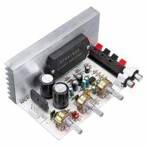 2.0 Channel 50W+50W Amplifier Board STK4132 DX-0408 STK Thick Film Series Amplifier board 10HZ-20KHZ double AC15-18V High-power