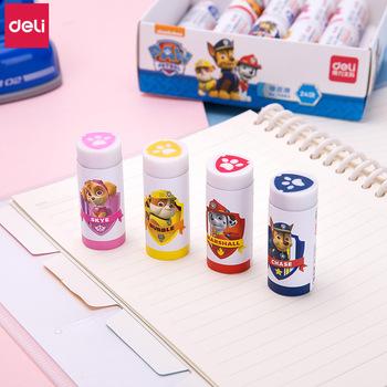 Deli paw patrol gumka kawaii cartoon ołówki gumka szkolne materiały papiernicze szkolne i biurowe nowości gumki nagrody dla dzieci tanie i dobre opinie 71083 RUBBER 6 lat Ołówek gumka Biuro eraser FANTASTIC 24 pcs box