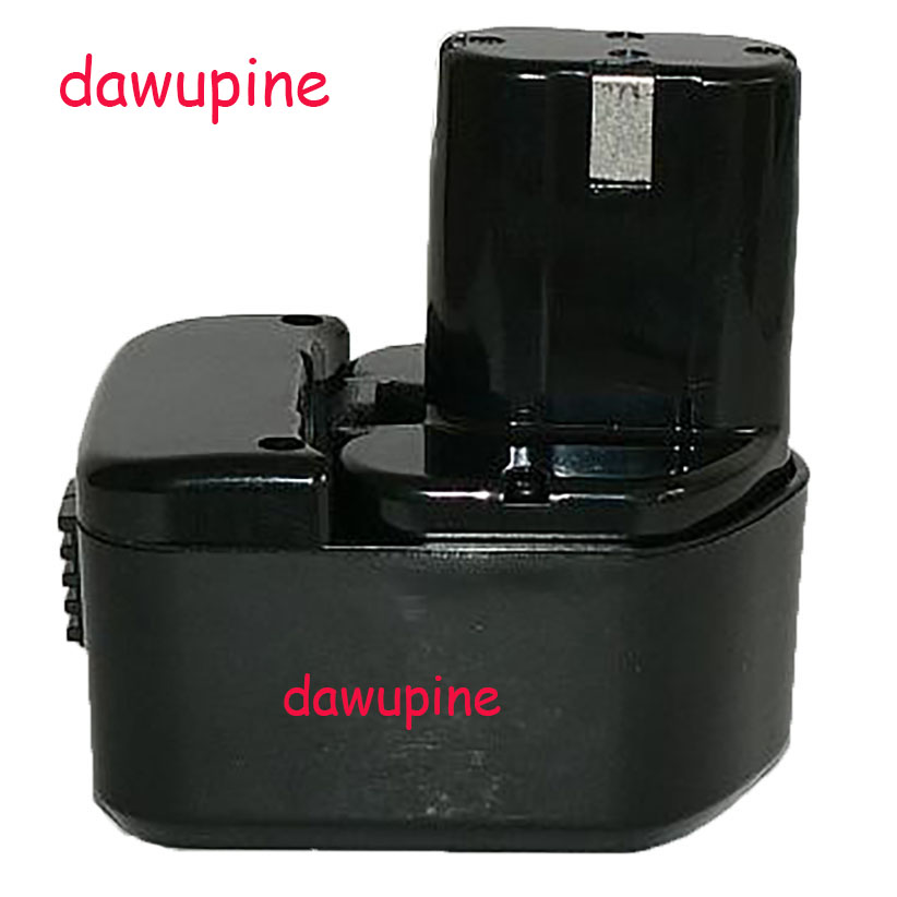 dawupine EB1214S <font><b>12V</b></font> 1500mAh Ni-CD Ni-MH Battery For Hitachi EB1214S <font><b>12V</b></font> <font><b>1.5Ah</b></font> Electrical Drill Accessories Torch Flashlight image
