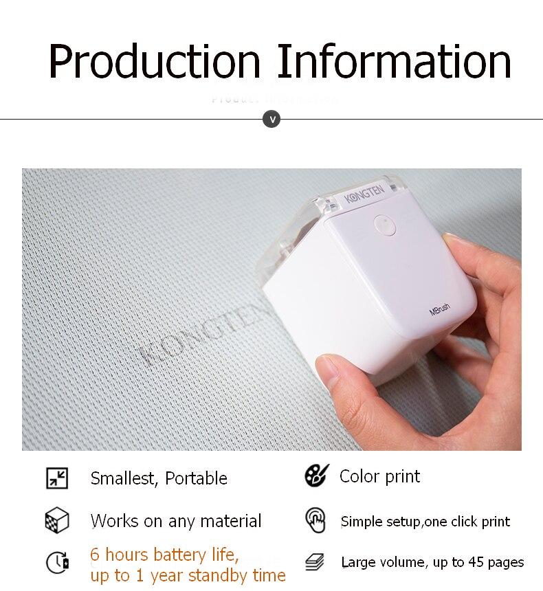 Color portable Inkjet Printer