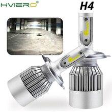 2Pcs Led Auto LED Headlight Bulbs Hi Lo Beam 72W 7800LM 6500K IP65 Auto Headlamp Led Lights DC 12v 24V  Driving lights Bulb led