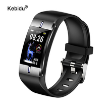 Sport Smart Armband Lichaamsvet Gezondheid Hartslag Bloeddrukmeter IP68 Waterdichte Smart Polsbandje Horloge Band Voor Vrouwen Mannen