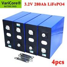 4個varicore 3.2v 280Ah lifepo4バッテリーdiy 12v 280AH充電式電動車rvソーラーエネルギー貯蔵システム
