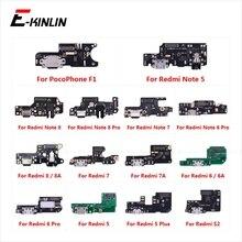Cổng Sạc Cổng Kết Nối Ban Phần Flex Cáp Micro Mic Dành Cho XiaoMi PocoPhone F1 Redmi Note 8 7 6 5 Pro plus 8A 7A 6A S2