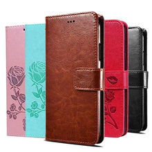 Leather Flip Wallet Case for Samsung Galaxy Ace 4 Ace4 / Ace