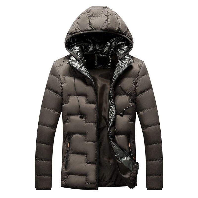 Male Parka Winter Men Portable Headset Parkas Jacket  1
