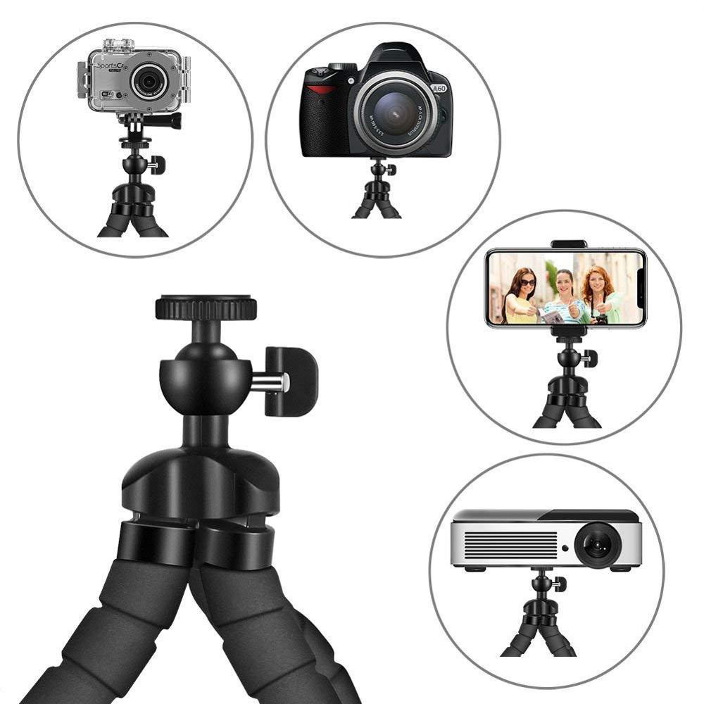 Smartphone Tripod For Phone Tripod For Mobile Monopod Tripod For Camera Holder Selfie Stick Bluetooth Remote Shutter Release 2