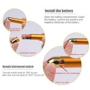 Image 5 - Mały rozmiar Energy upiększacz urządzenie do masażu twarzy rolka kosmetyczna do twarzy masażer wibracyjny Stick Lift napinanie skóry pasek zmarszczek