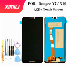 5.84 inch100% Tested LCD Display Screen For Doogee Y7 LCD Display With Touch Screen Complete assembly For Doogee N10 +Tools