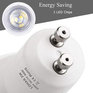 Image 2 - Светодиодсветильник лампа GU10 SMD 3000/6000K, 2 Вт, 35 Вт