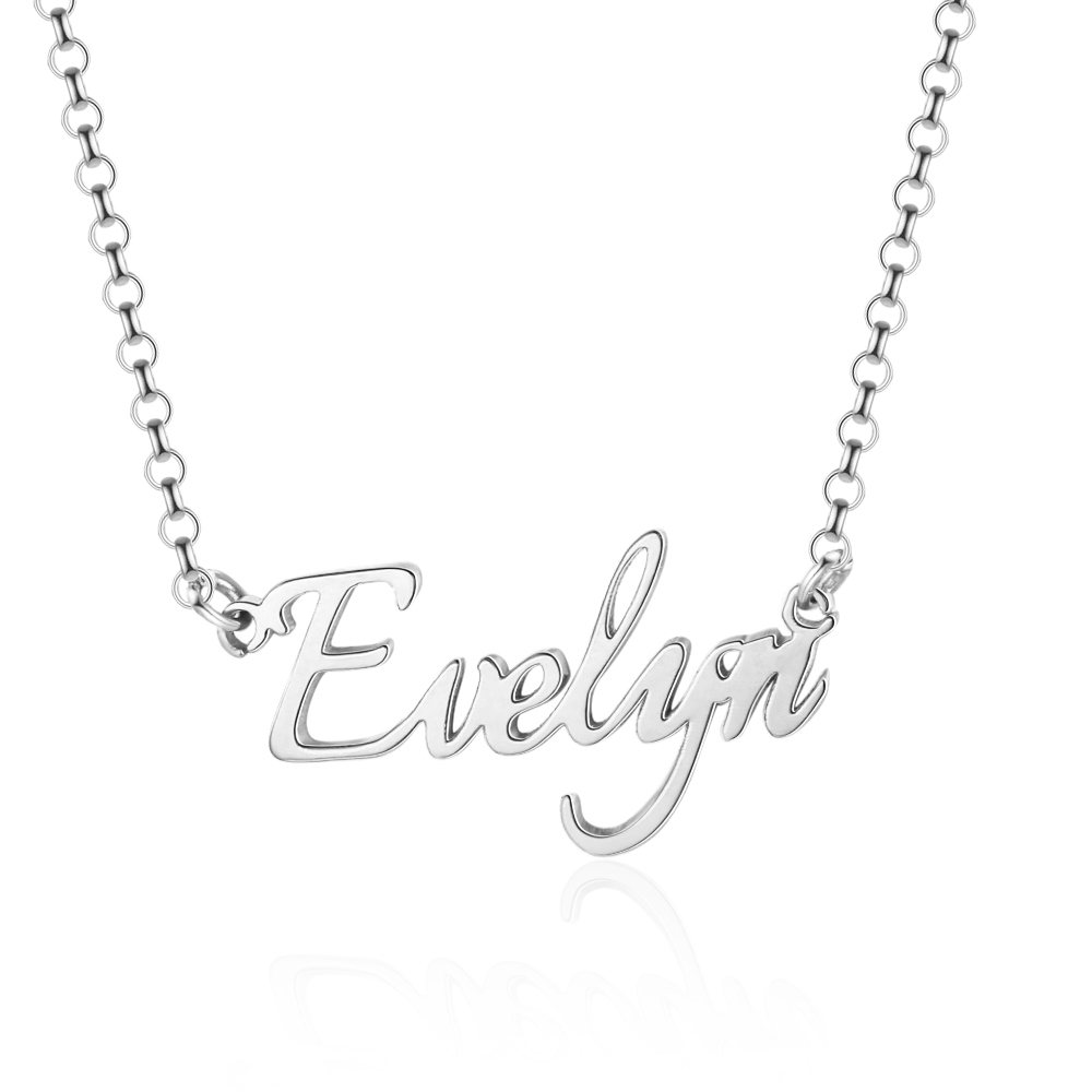 H2ca7e01d48f6419e95cb17039c3e52d19 925 Sterling Silver Personalized Nameplate Letter Necklace Custom Made Name Pendant Russian Name Christmas Gifts for Girlfriend