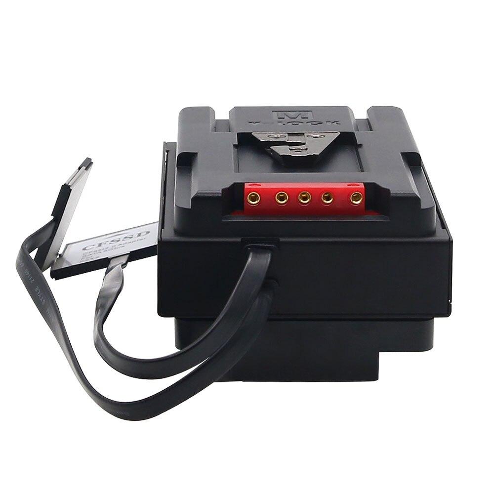 Image 3 - TZT V Type CFast 2.0 to SDD Adapter For Blackmagic URSA Mini PRO/Broadast CanonXC10 C300 MARKIIDAC   -