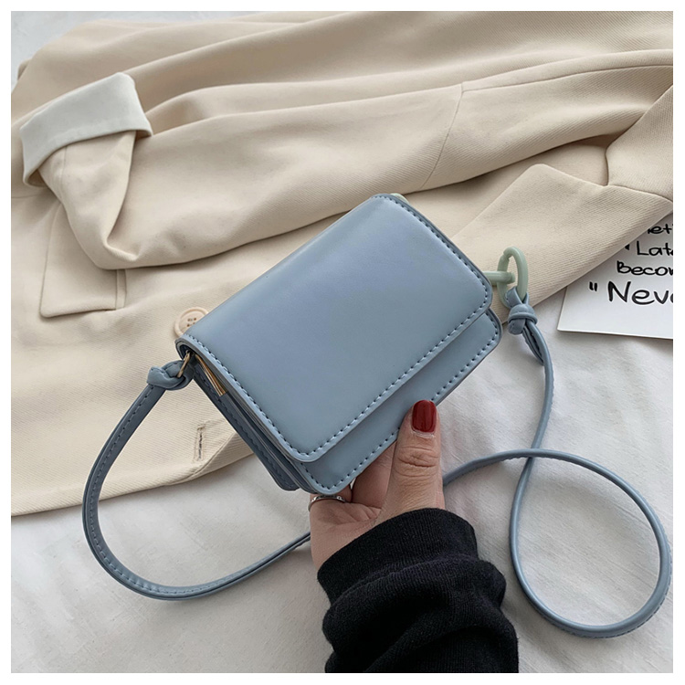 Five Colors Of SweetsRetro Mini Bags For 2020 Small Chain Handbag Small Bag PU Leather Hand Bag Ladies Shopping Bags (3)