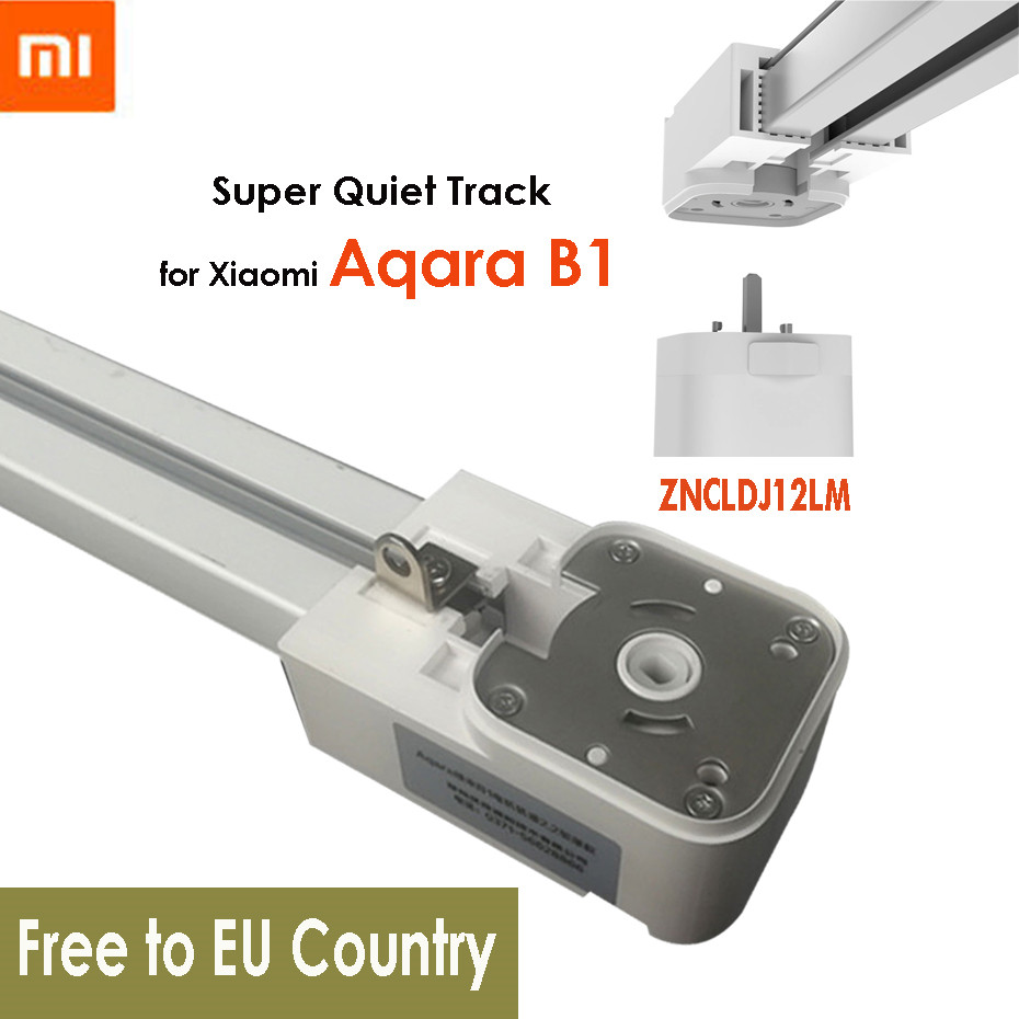 Super Silent Electric Curtain Track For Xiaomi Aqara B1 Motor,Mijia Smart Curtain Rails System,Mi Home App,Free To EU Country