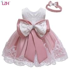 LZH Baby Mädchen Kleid Neugeborenen Prinzessin Kleider Für Baby erste 1st Jahr Geburtstag Kleid Ostern Karneval Kostüm Infant Party Kleid