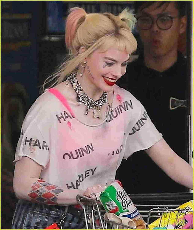 Dc Nieuwe Vogels Van Prooi Harley Quinn T-shirts Vrouwelijke Clown Cosplay Kostuum Suicide Squad Doorschijnende T Shirts Vrouw Kostuum