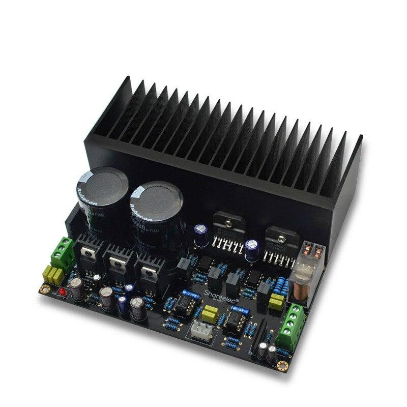 Стерео усилитель высокой мощности LM3886 OP07 DC Servo 5534 независимый Op Amp комплект pcb