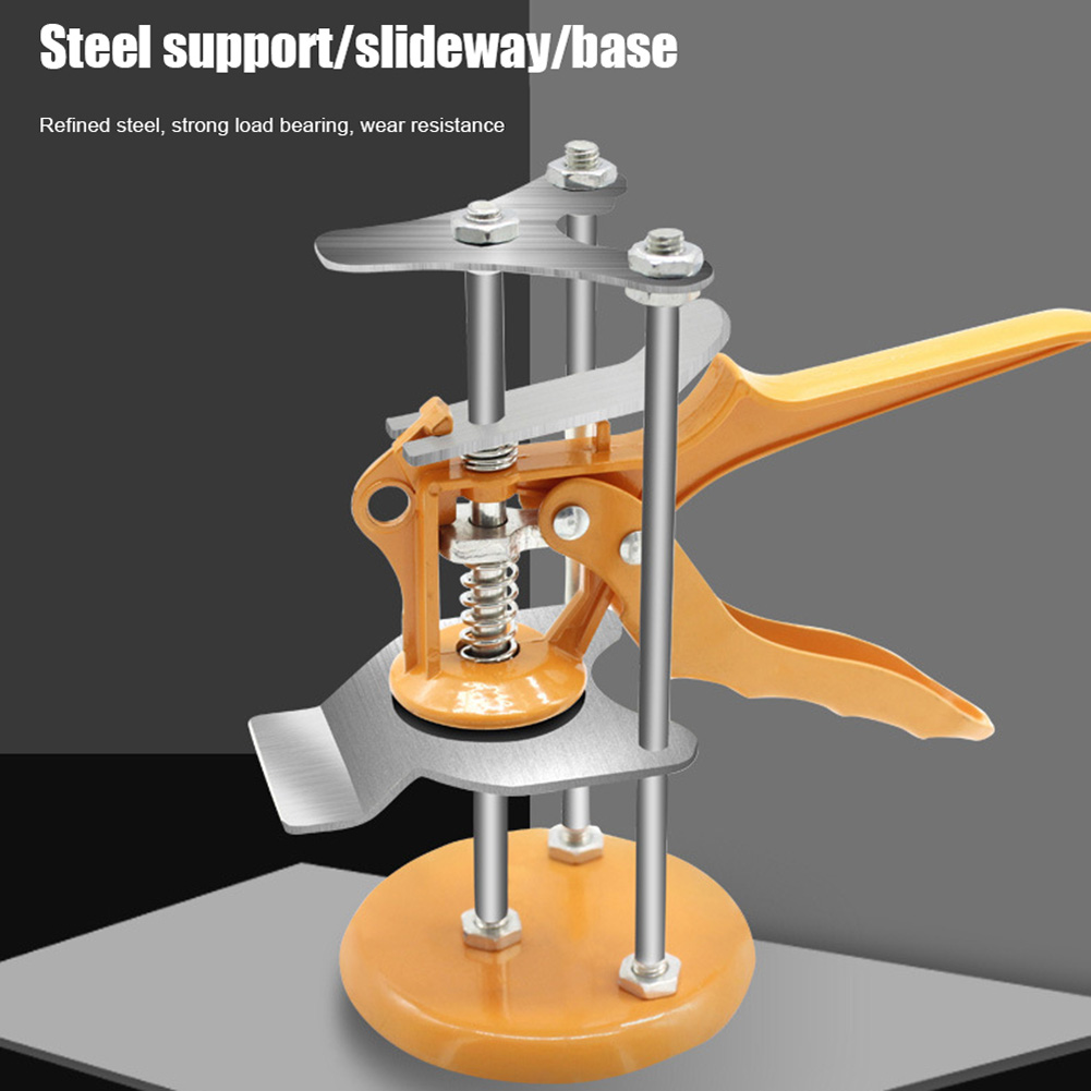 High Low Profile Machine Three-column Height Regulator Adjustable Ceramic Tile Locator JA55