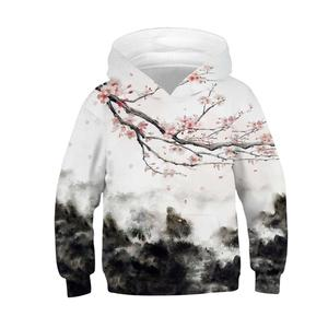Image 5 - Black White Forest 3D Printed Hoodies for Teen Girls Boys Hooded Sweatshirt Kids Hoodie Autumn Winter Children Clothes Pullover