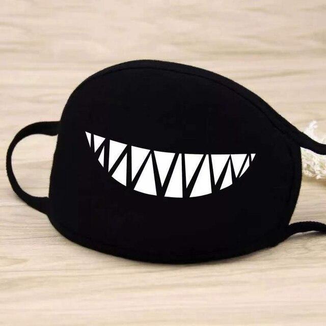 1pcs fashion Cotton face Masks Respirator Keep Warm Cartoon Cute Mask masks Washable Reusable Unisex 2