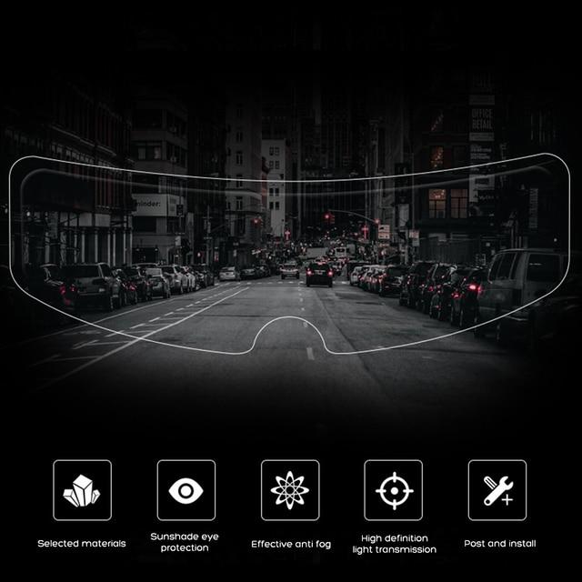 Universal Anti-Rain Full Face Helmet Lens 4