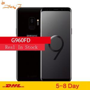 Samsung S9 G960FD, две Sim-карты, оригинал, LTE, Android, мобильный телефон, Восьмиядерный, 5,8 дюйма, 12 Мп, 4 Гб ОЗУ, 64 Гб ПЗУ, NFC, Exynos 9810
