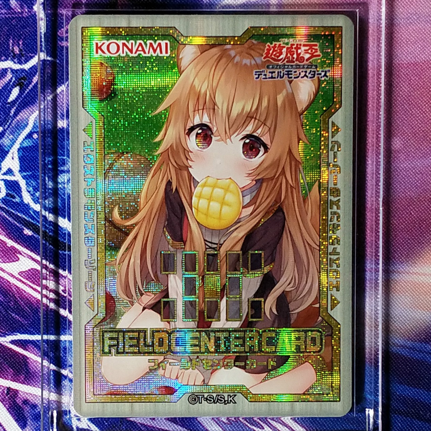 Yu Gi Oh Raphtalia DIY Colorful Toys Hobbies Hobby Collectibles Game Collection Anime Cards