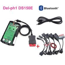 Novo vci para delphis ds150e 2020 usb bluetooth obd obd2 scanner 2016r0 com keygen carros ferramenta de diagnóstico