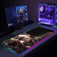 Metal Gear Solid Ga mi ng Maus Pad Xxl RGB Pedal Pads Mi Pad LED licht Matten für Mi ce maus für Tastaturen pads mit hintergrundbeleuchtung