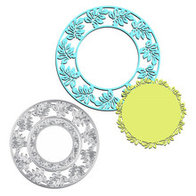 GJCrafts Lace Frame Dies Circle Metal Cutting Dies New 2019 Scrapbooking Album Card Making Embossing Stencil Decor Diecuts