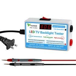 O verificador multiuso do diodo emissor de luz da luz de fundo da tevê da lâmpada conduziu a saída nova 0-300v dos instrumentos da medida da ferramenta do teste das tiras dos grânulos