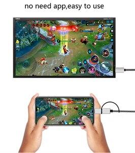 Image 3 - 2K Bluetooth Audio Type C Micro USB HDMI câble HDTV adaptateur pour Huawei Mate 20 P9 Samsung S10 S9 S8 Note 8 9 téléphone Android à la télévision