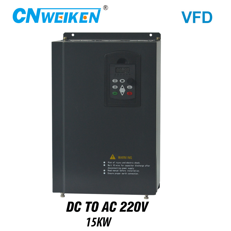 wind solar inverter DC to AC three-phase converter 15kw with MPPT Control solar pump VFD