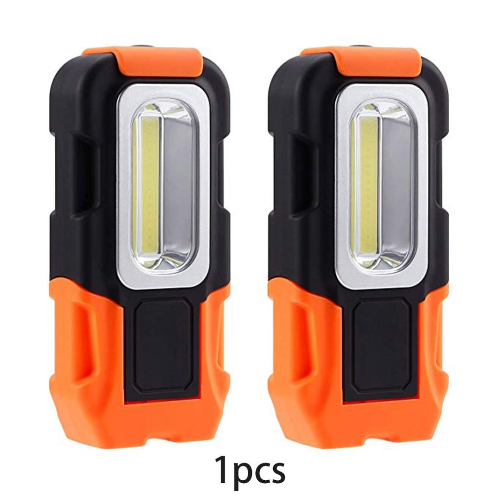 LED Flashlight Torch Multifunctional Home Use Magnetic Flexible Hand Torch Work Light Outdoor Inspection Lamp