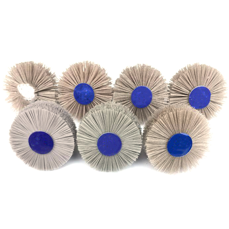 7pcsDuPont nylon grinding head polishing wheel for semifinished wood root carvin