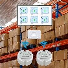 Low Power Wireless Daten Logger Temperatur Feuchtigkeit Sensor 433/868/915mhz Temperatur Feuchtigkeit logger Umwelt Überwachung