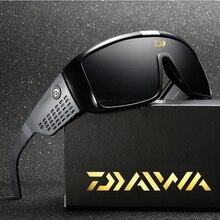 2020 Daiwa Men Fishing Sunglasses Retro Cycling Sports