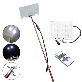 COB LEDs 12V LED Telescopic Fishing Rod Outdoor Camping Road Trip Street Lights