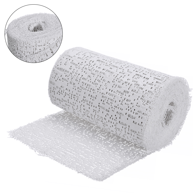 10X300cm Plaster Bandages Cast Orthopedic Tape Cloth Gauze Emergency Muscle Tape First Aid Medical Health Care Tool