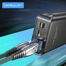 20000 mAh Power Bank Dual USB External Battery for Mobile Phone 20000 mAh Fast Charging Power Bank Micro Power Bank For iphone12