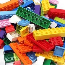Big Size Building Blocks Brick Colorful Bulk Large Particles Set DIY Educational Compatible with Assembles Kids Toys Gifts