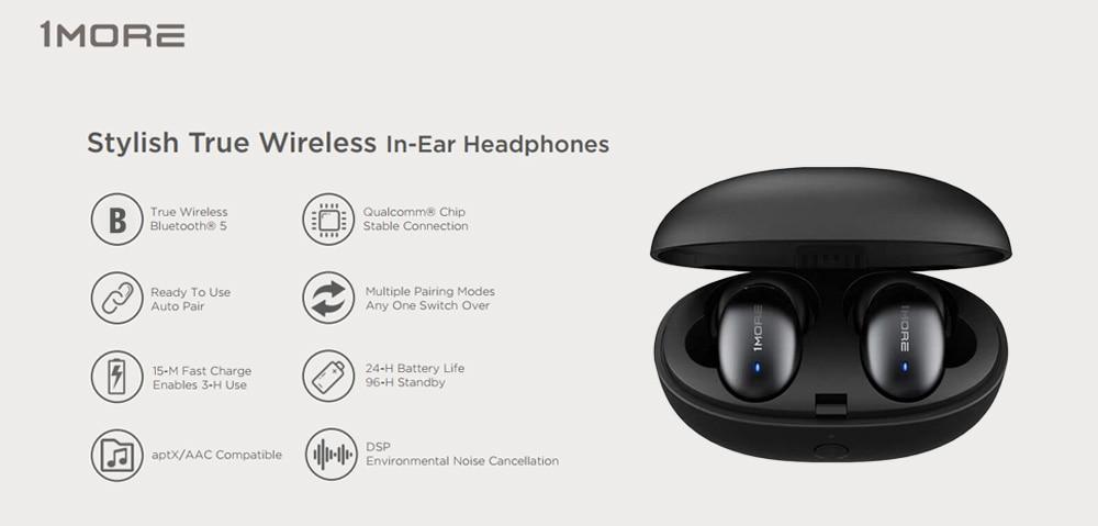 1MORE E1026BT-I STYLISH TRUE WIRELESS IN-EAR HEADPHONES