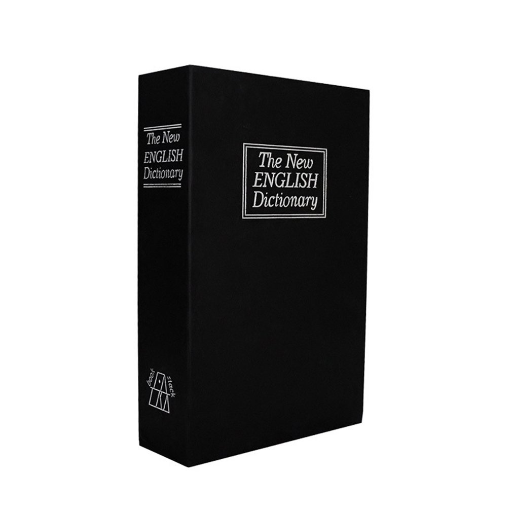 Safe English Dictionary Key Style Money Box Piggy Bank Safe Money Cash Coins Saving Box Lovely Gift  For Kid Child Birthday